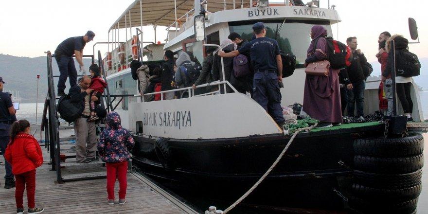 93 kaçak göçmen yakalandı