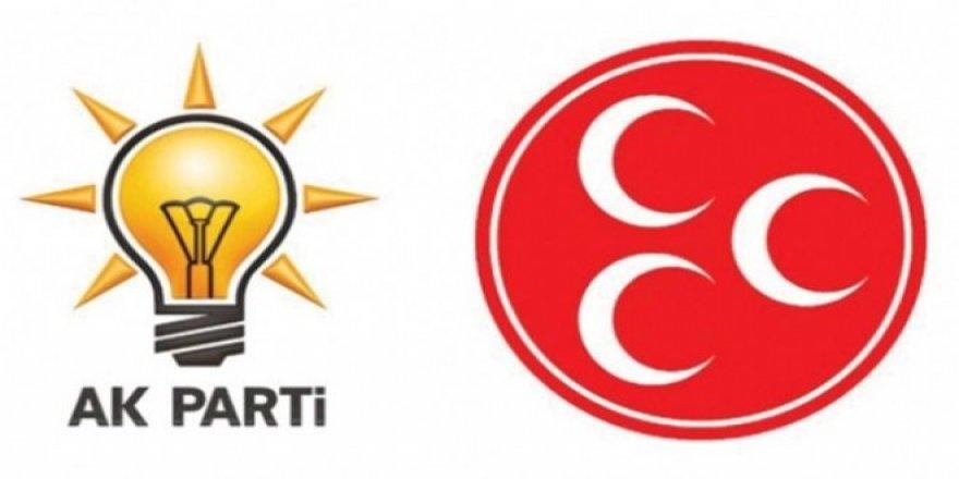 AK Parti ve MHP heyetleri ittifak için görüşüyor
