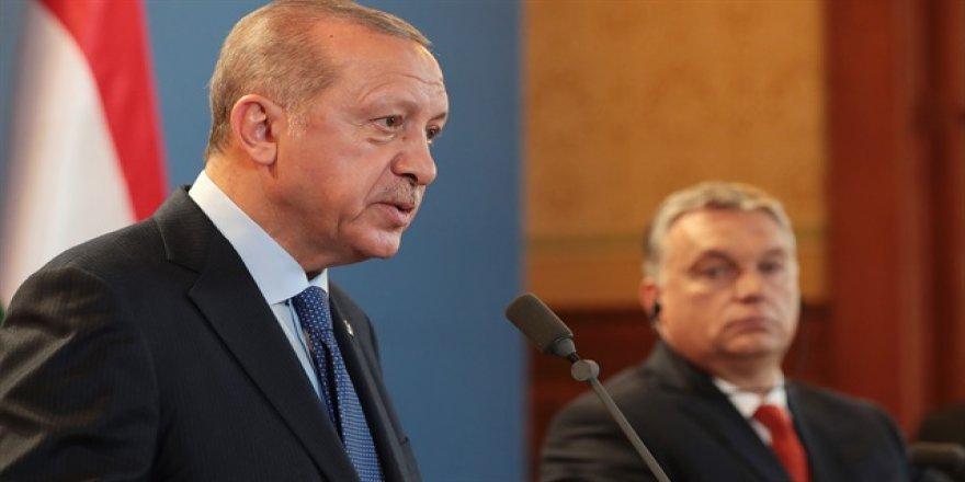 Cumhurbaşkanı Erdoğan Macaristan'da konuştu