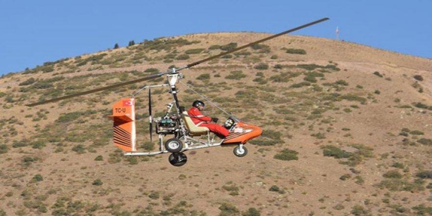 Biri doktor diğeri tekstilci Kayserili iki arkadaş cayrokopter üretti