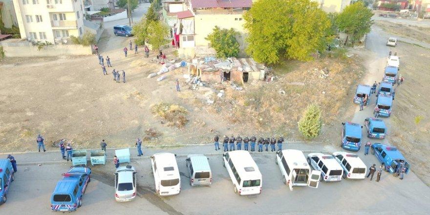 18 kişilik suç örgütü çökertildi
