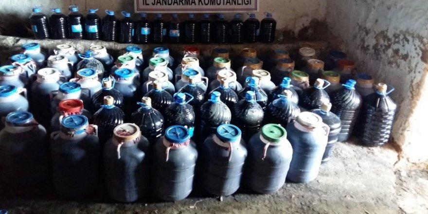 6 ton kaçak şarap ele geçirildi