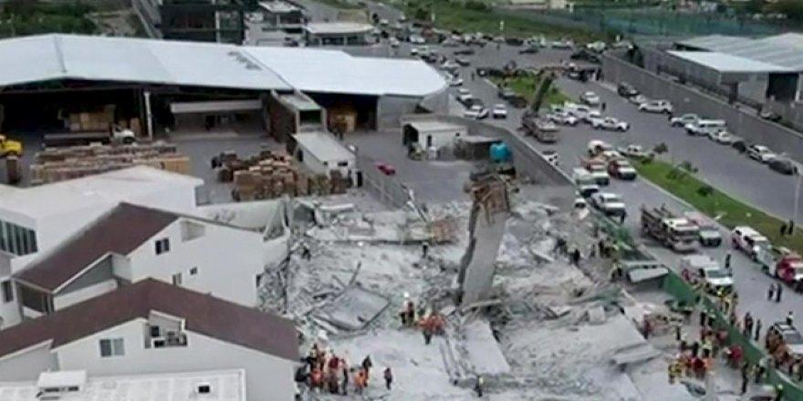 Alışveriş merkezi inşaatı çöktü: 7 ölü