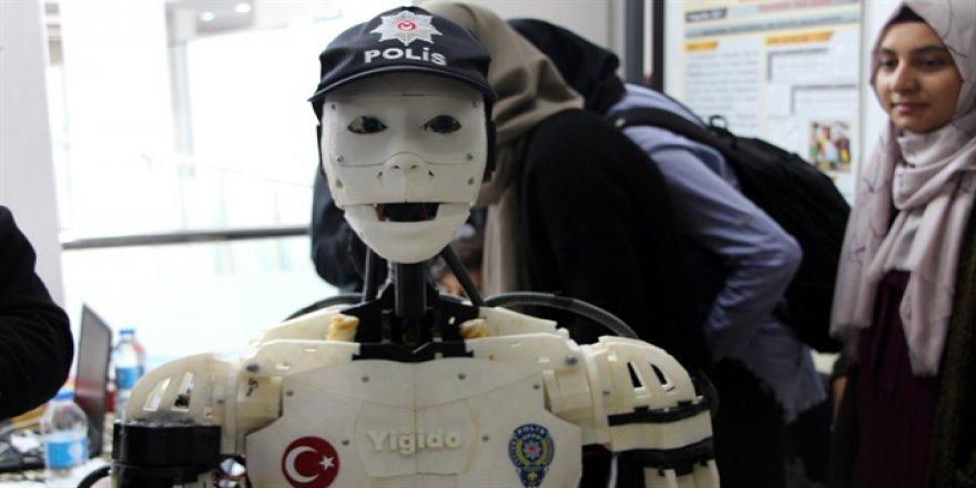 İnsansı polis robot Yiğido