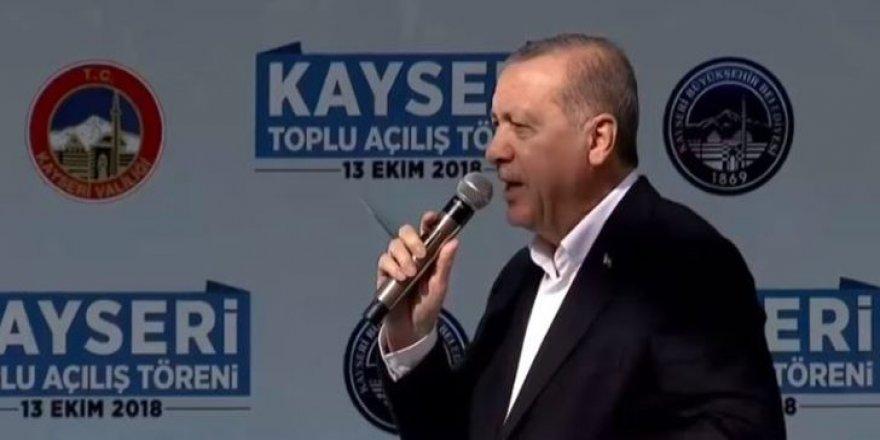 Cumhurbaşkanı Erdoğan açıkladı !