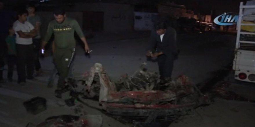 Bomba yüklü araç patladı: 4'ü çocuk 6 yaralı