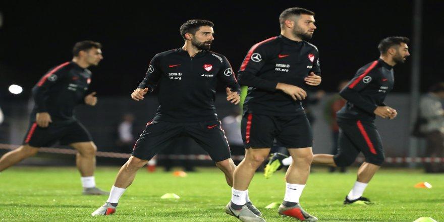 A Milli Takım, Rusya maçı hazırlıklarını tamamladı