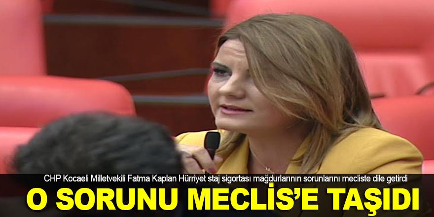 Milletvekili Hürriyet, o sorunu Meclis'e taşıdı