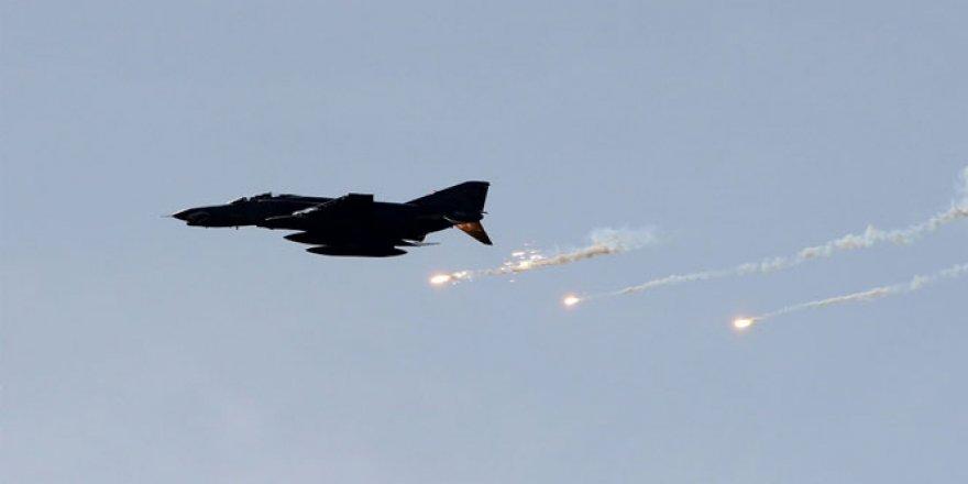 Savaş uçakları, DEAŞ'ı bombaladı
