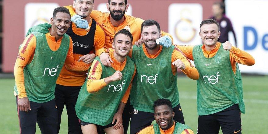 Galatasaray, Bursaspor hazırlıklarını sürdürdü