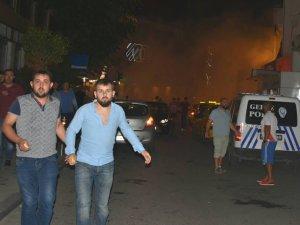 Gebze'de olaylı gece
