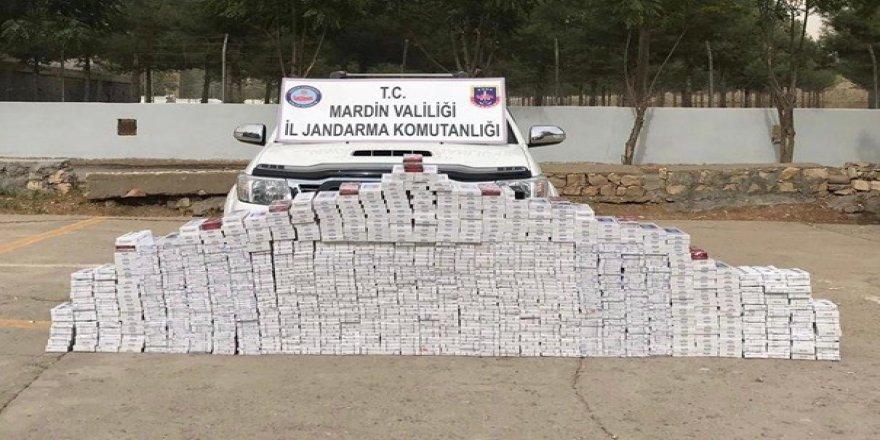 8 bin 434 paket kaçak sigara ele geçirildi