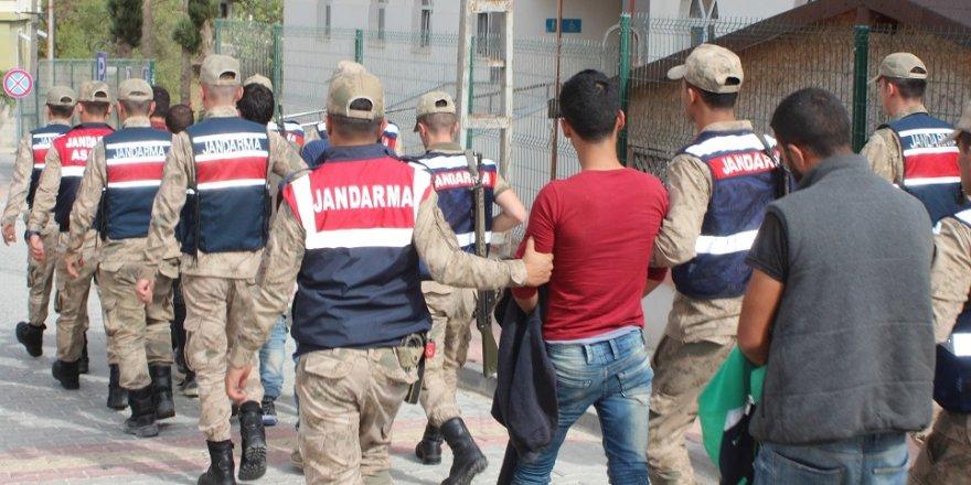 Sınırda insan kaçaklığı operasyonu