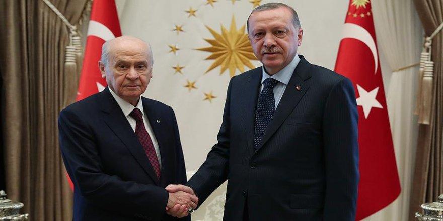 Erdoğan ve Bahçeli görüşecek