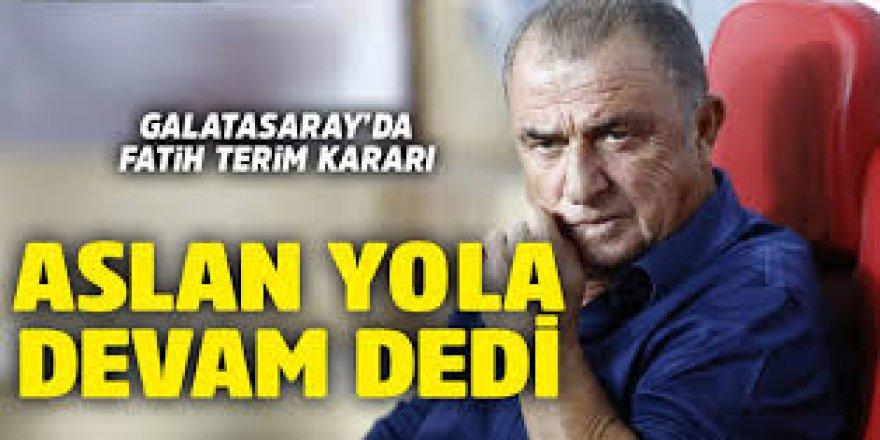 Galatasaray, Fatih Terim ile sözleşme yeniledi