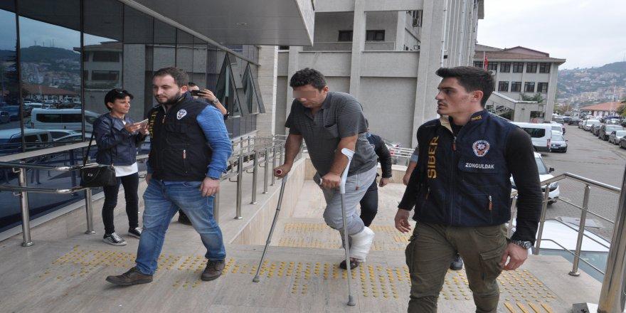 İnternette çocuklara ait cinsel görüntü paylaşan işçi tutuklandı