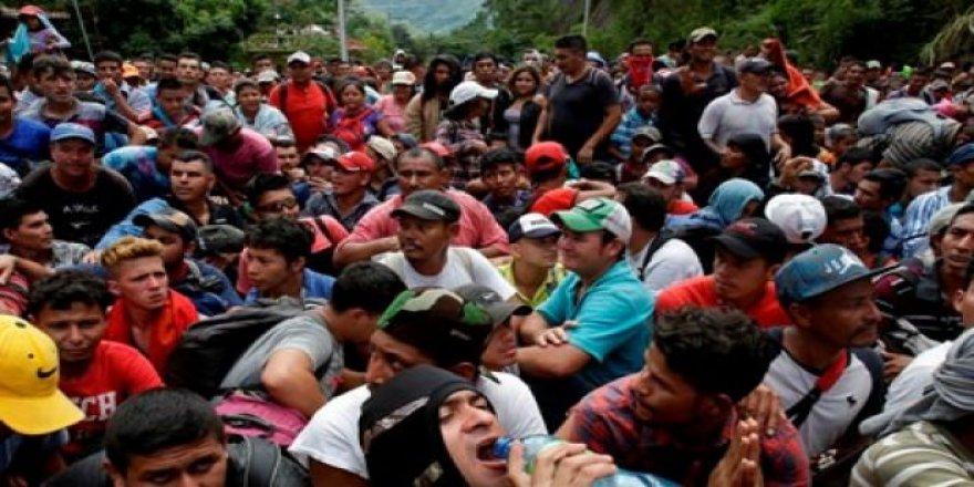 ABD'yi korkutan göçmen yürüyüşü