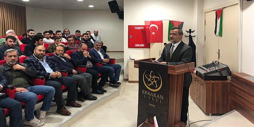 Erbakan Vakfı'ndan Kudüs toplantısı