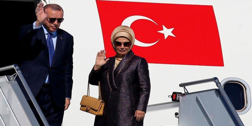 Erdoğan, Moldova'ya gitti