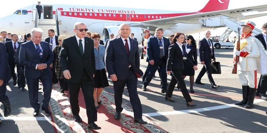 Erdoğan, Moldova'da