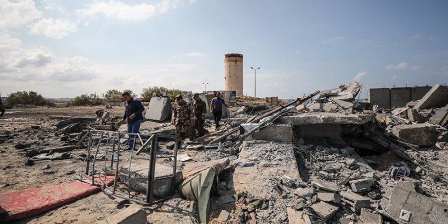 İsrail, Gazze'de 20 hedefi vurdu