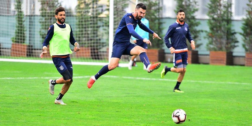 Başakşehir'de Kayserispor hazırlıkları sürüyor