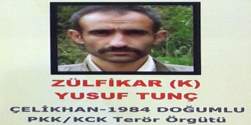 PKK'nın sözde bölge sorumlusu ölü olarak ele geçirildi