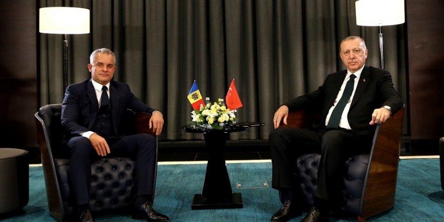 Erdoğan, Plahotniuk ile görüştü