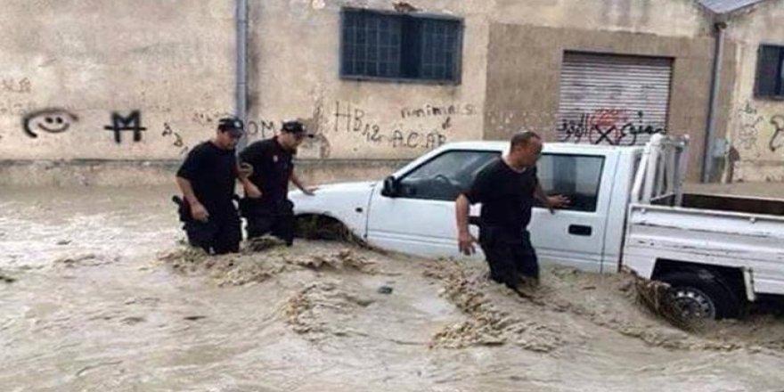 Sel felaketinde 2 kişi hayatını kaybetti