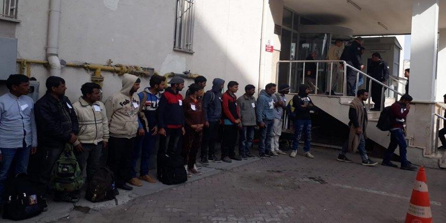 152 kaçak göçmen yakalandı