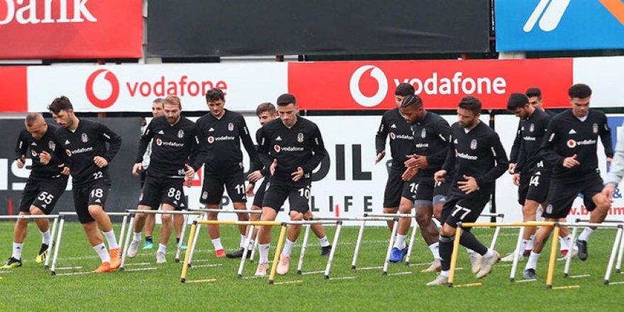 Beşiktaş, Göztepe maçı hazırlıklarını sürdürdü