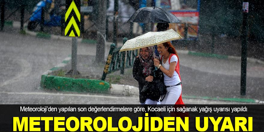 Meteoroloji'den Kocaeli için uyarı!