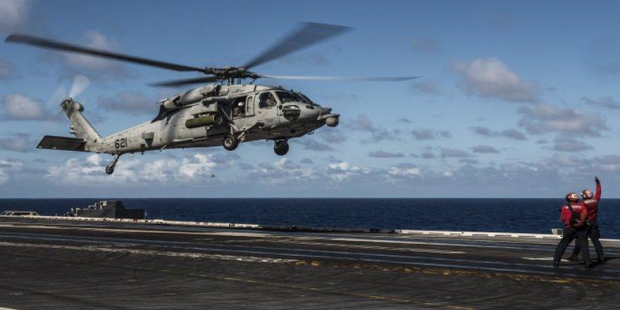 ABD ordusuna ait helikopter düştü!