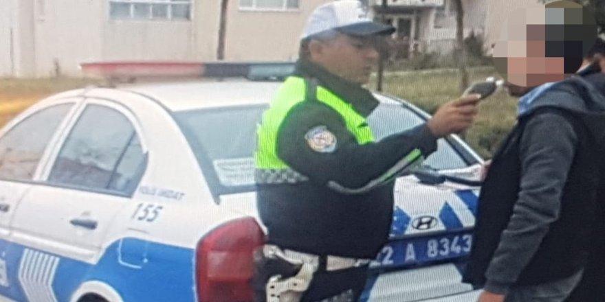 Öğrenci servisi şoförü alkollü çıktı
