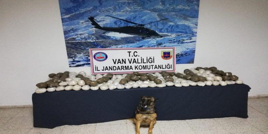 Jandarmadan sınırda eroin operasyonu