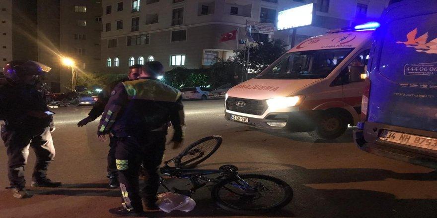 Gebze'de akılalmaz kaza