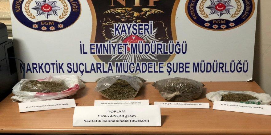 Uyuşturucu operasyonunda 3 gözaltı