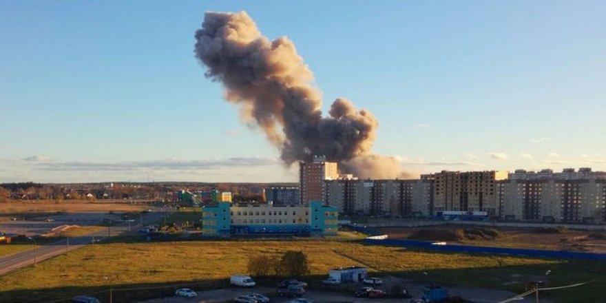 Havai fişek fabrikasında patlama: 2 ölü