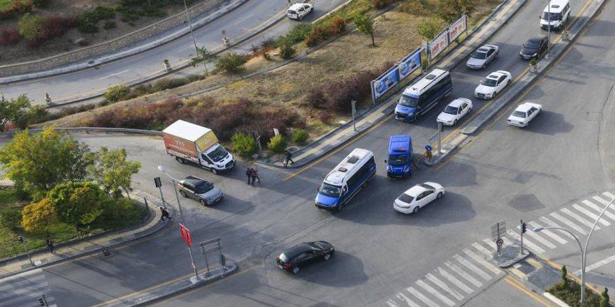 'Trafik canavarları'yla gökyüzünden mücadele