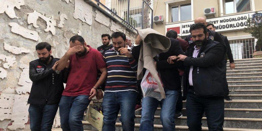 Tırdan külçe alüminyum gasp eden sahte polisler adliyeye sevk edildi
