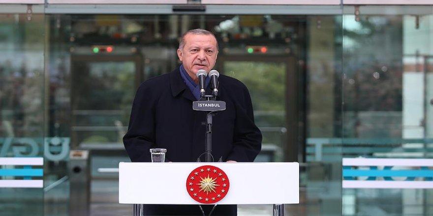 Erdoğan: Yeniden diriliş, şahlanış döneminin arifesindeyiz
