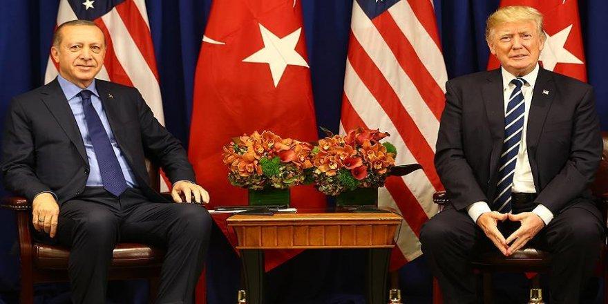 Erdoğan ile ABD Başkanı Trump görüştü