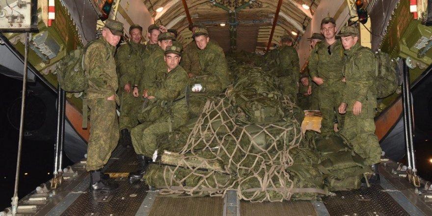 Rus askerleri 'dostluk' tatbikatı için Pakistan'da