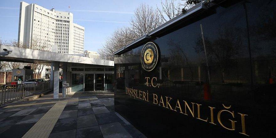 Türkiye'den terör saldırısına kınama
