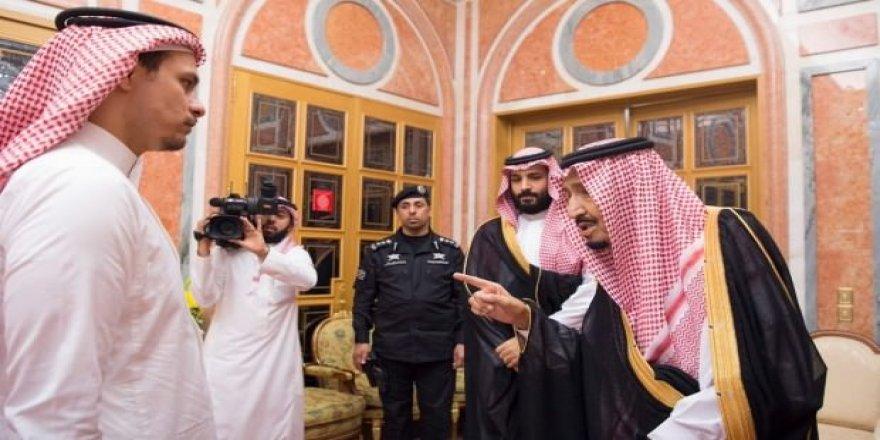 Kral ve Prens Selman, Kaşıkçı'nın ailesini ağırladı