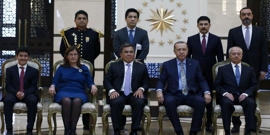 Erdoğan, Peru Büyükelçisini kabul etti