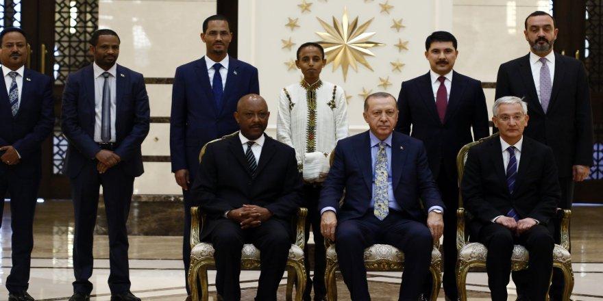Erdoğan, Etiyopya Büyükelçisini kabul etti