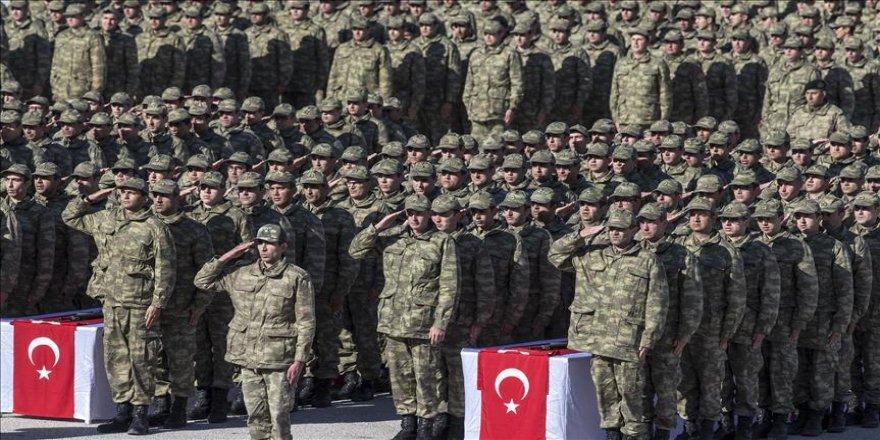 Bedelli askerler için yemin töreni düzenlendi