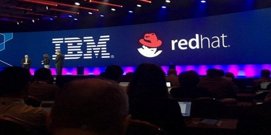 IBM, Red Hat'ı satın alıyor