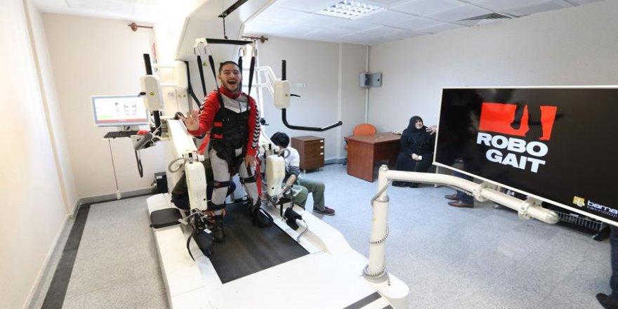 Robotik yürüme cihazı hizmete girdi